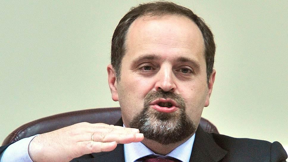 Министр природных ресурсов и экологии России Сергей Донской