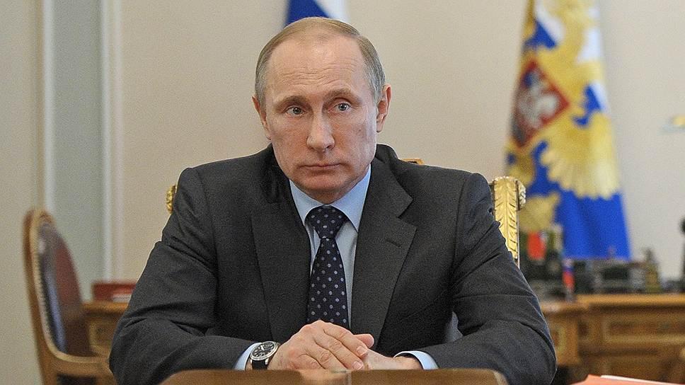 На кого Владимир Путин возложил газовые проблемы Украины