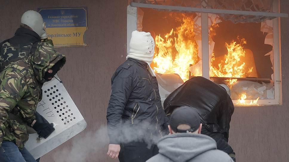Силы самообороны в Горловке наступали, а не оборонялись
