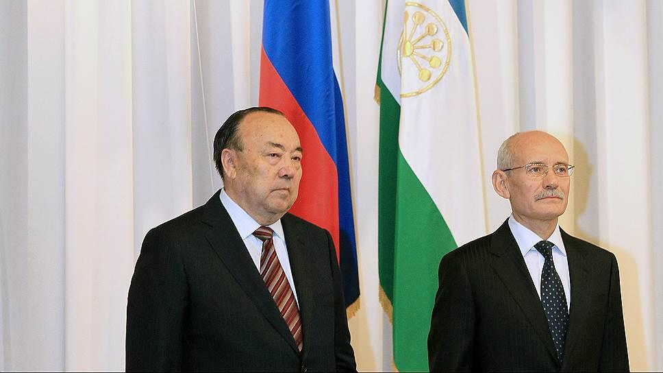 Муртаза Рахимов (слева) знает тех, кто мог бы сменить Рустэма Хамитова на посту главы Башкирии