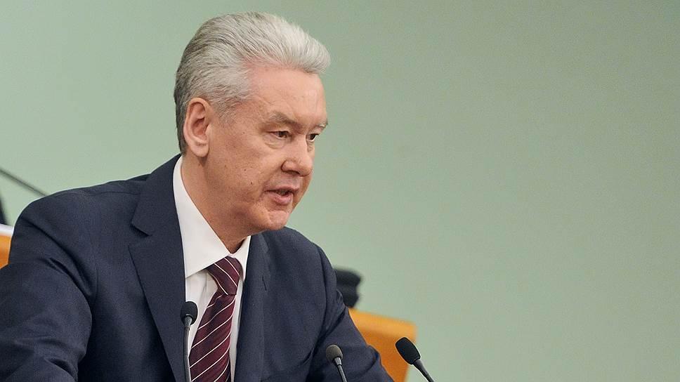 Сергей Собянин предлагает еще раз поправить закон о порядке формирования СФ, чтобы Москве не пришлось проводить довыборы в Мосгордуму