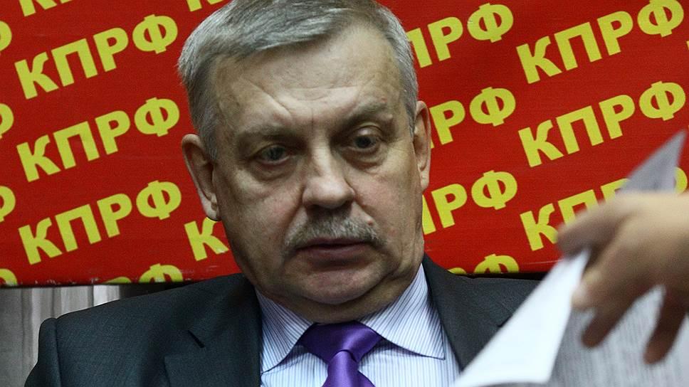 Коммунисты намерены отстаивать в Конституционном суде право экс-мэра Братска Александра Серова на суд присяжных