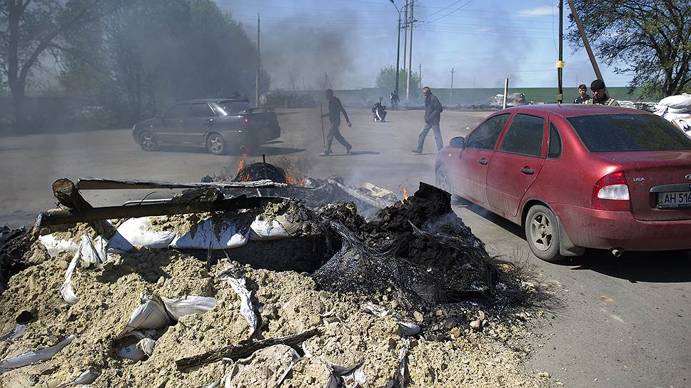 Почему украинские военные не решились войти в Славянск