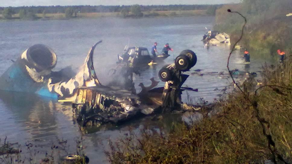 Экипаж разбившегося Як-42 тренировался только на бумаге