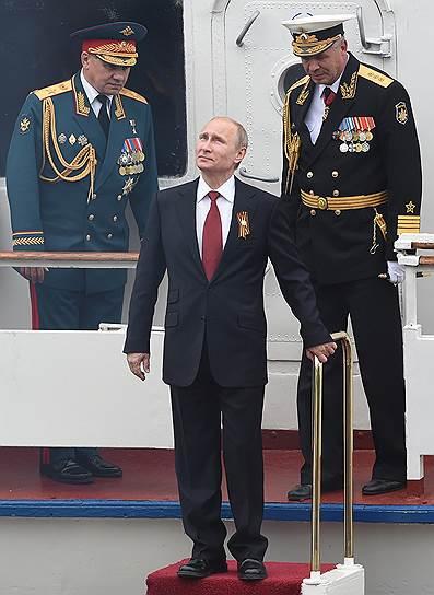 Владимир Путин поздравлял Севастополь с 69-й годовщиной Победы, а город праздновал ее как в первый раз