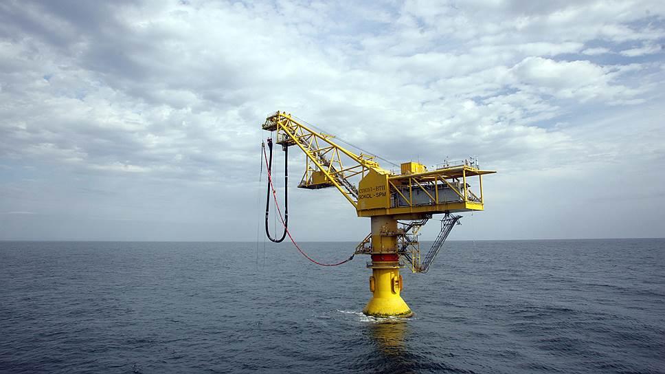 """Нефтезагрузочный терминал дочерней корпорации ExxonMobil в поселке Де-Кастри (проект """"Сахалин-1"""")"""