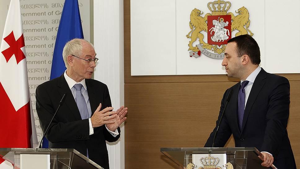 Как Грузия начала интеграцию в Евросоюз