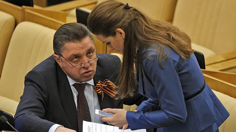 Член комитета Государственной думы России по федеративному устройству и вопросам местного самоуправления Вячеслав Тимченко