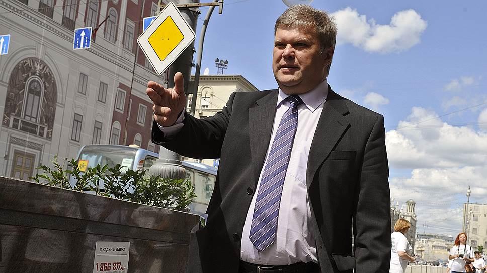 Лидер «Яблока» Сергей Митрохин пойдет на выборы вместе с гражданскими активистами и представителями других партий