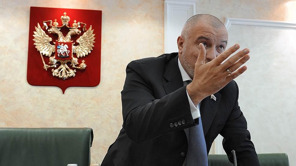 Председатель комитета Совета Федерации (СФ) России по конституционному законодательству, правовым и судебным вопросам, развитию гражданского общества Андрей Клишас
