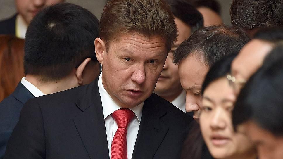 """Войдя в зал, где должна была начаться церемония подписания совместных документов, глава """"Газпрома"""" Алексей Миллер, кажется, еще долго не мог смириться с тем, что она не будет иметь к нему никакого отношения"""