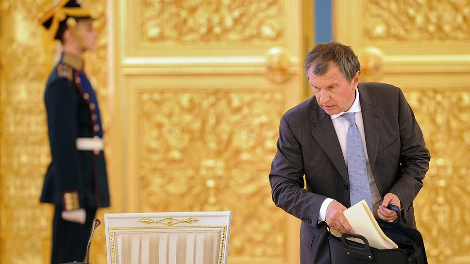 """Президент """"Роснефти"""" Игорь Сечин отыскал СПГ в ненецкой тундре"""