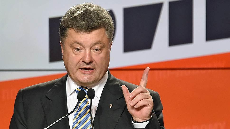 Президента Украины признали на Западе