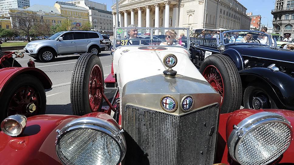Alfa Romeo 1925 года доставила Андрея и Татьяну Паньковских прямо на третью ступень пьедестала