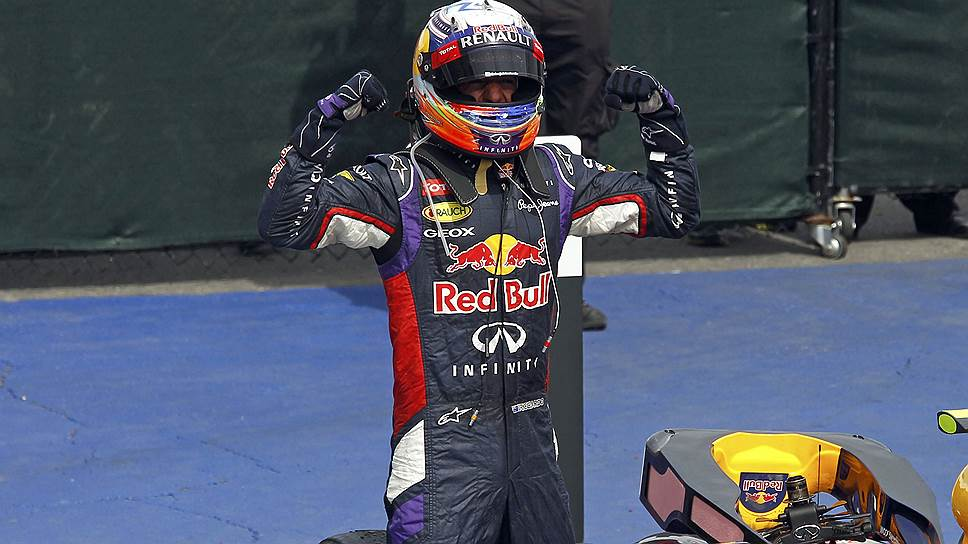 Победа на Гран-при Канады стала первой в карьере Дэниела Риккардо