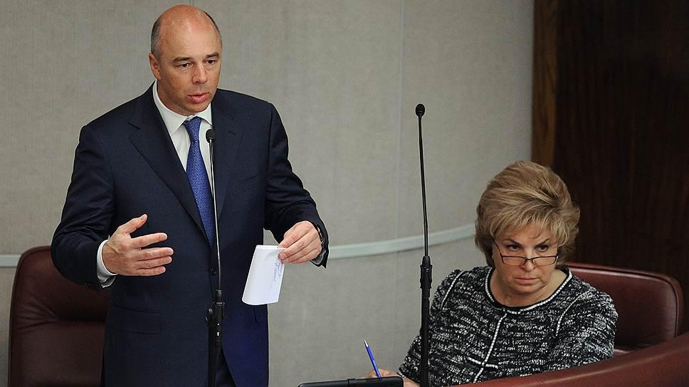 Министр финансов Антон Силуанов и его заместитель Татьяна Нестеренко  констатировали, что в этом году бюджет исполним и без приватизации