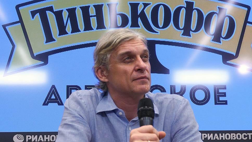 """Российский предприниматель, основатель бренда """"Тинькофф"""" Олег Тиньков"""