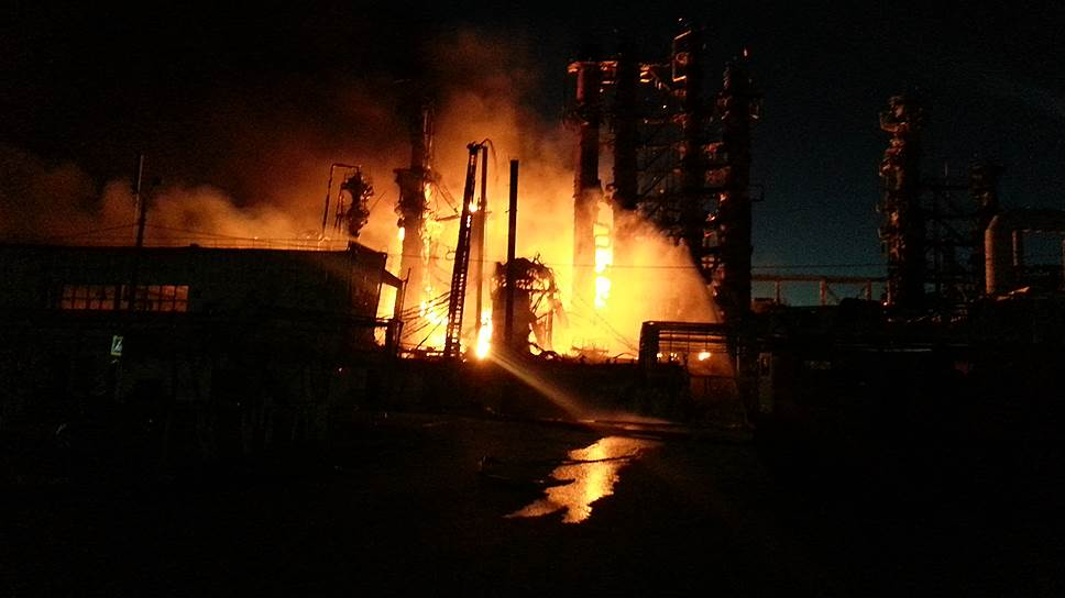 Пожар на Ачинском НПЗ разогрел рынок