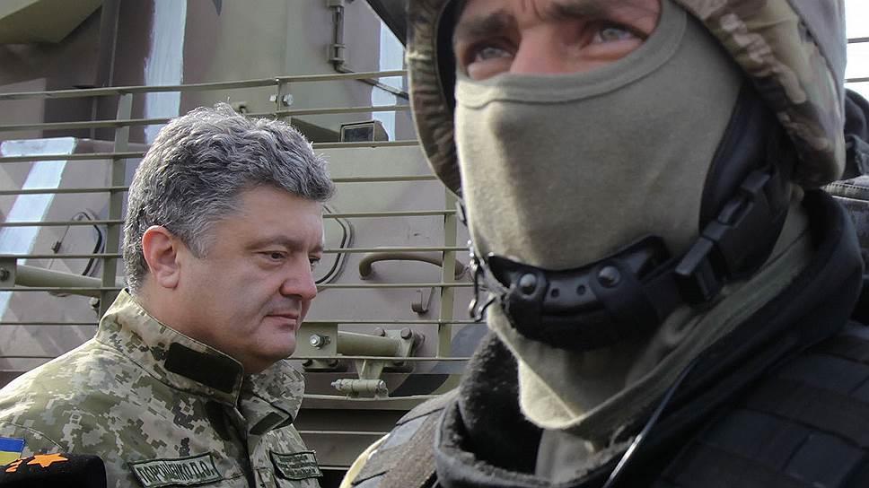 Как президент Украины взял перемирие назад