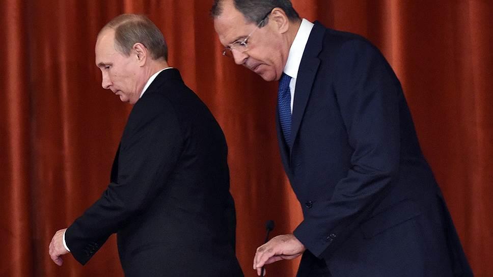 Как Владимир Путин встретился с дипломатами