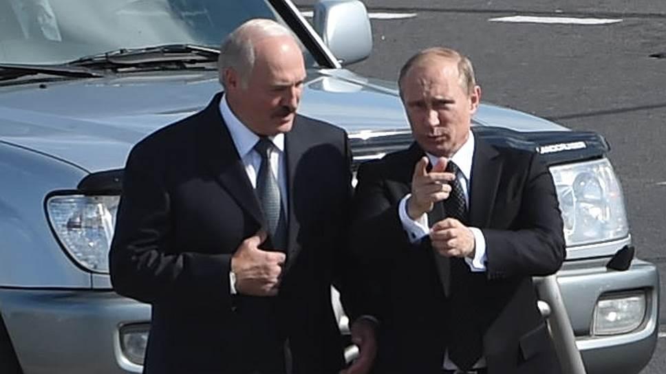 Александр Лукашенко, следуя дорогой Владимира Путина, забежал вчера впереди паровоза
