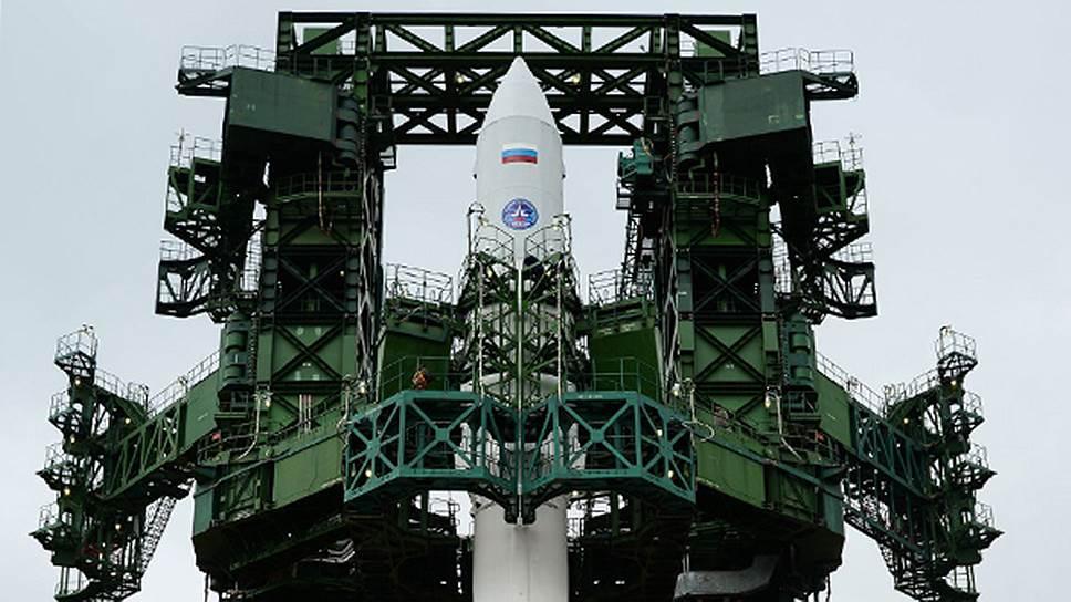 "Ракета-носитель легкого класса ""Ангара-1.2ПП"" на стартовом комплексе космодрома Плесецк"