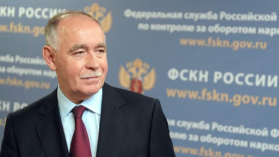 Председатель Государственного антинаркотического комитета, директор ФСКН России Виктор Иванов