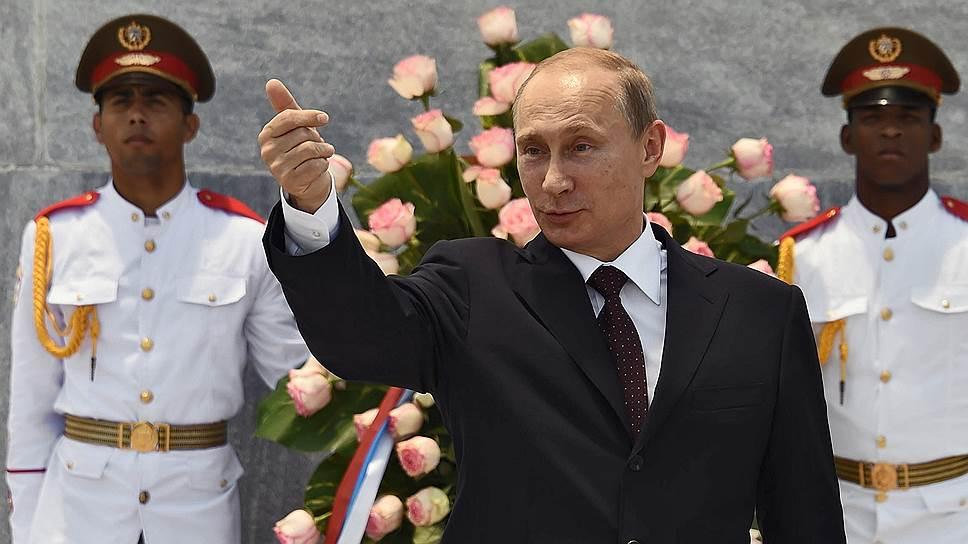 Как Владимир Путин ехал на финал чемпионата мира по футболу