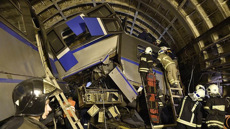 Как произошла авария в московском метро