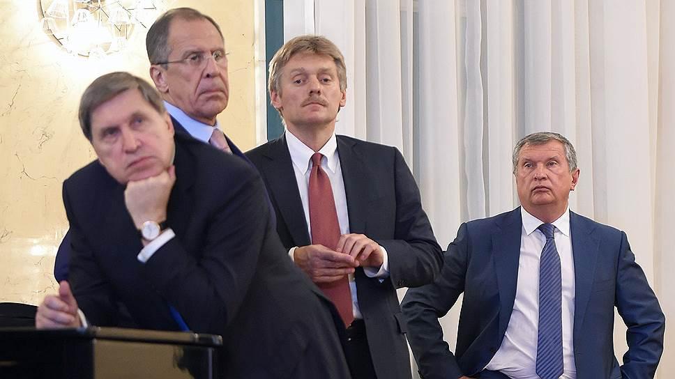 Владимир Путин о санкциях США: сами по себе и ударят