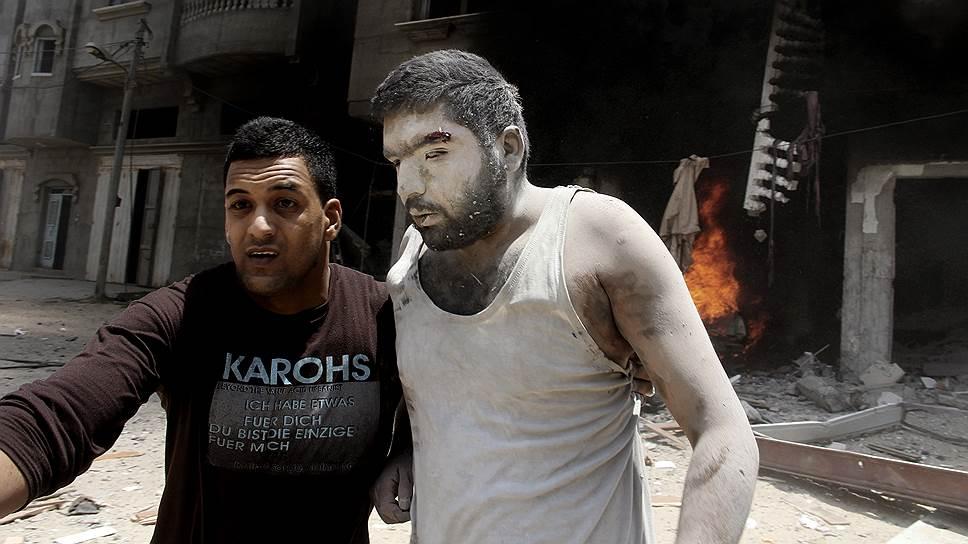 Открытый вчера Израилем коридор безопасности позволил вывезти из Газы раненых местных жителей и на два часа обеспечить доступ медиков к пострадавшим