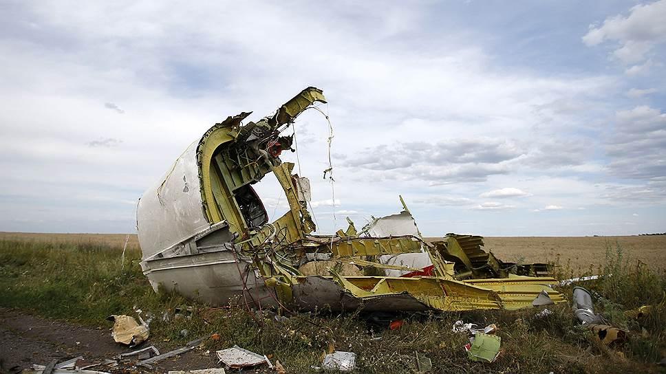 Обломки малайзийского лайнера должны прояснить причину трагедии в небе над Донбассом