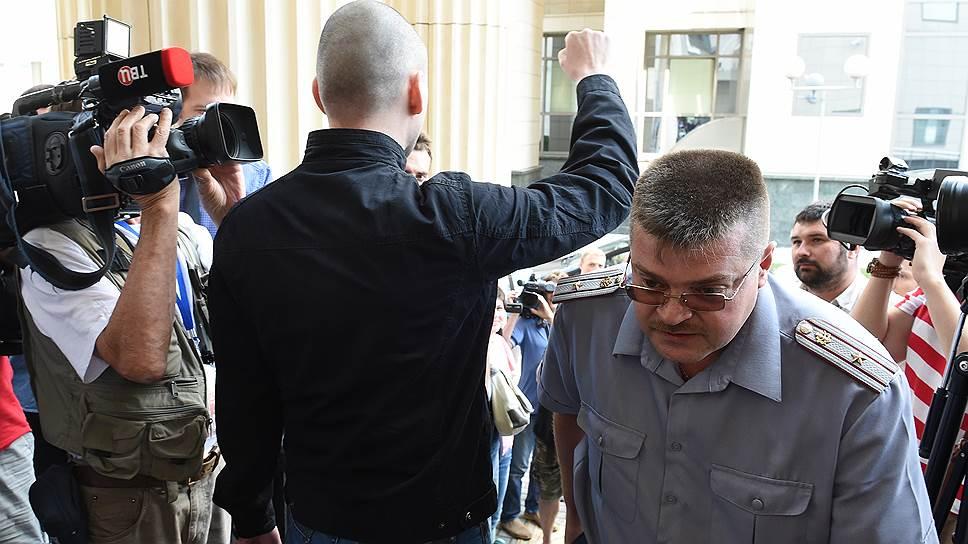 Как суд вынес приговор Сергею Удальцову и Леониду Развозжаеву