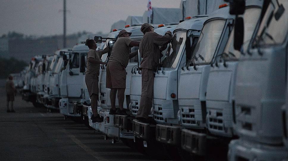 Москва настаивает, что при подготовке гуманитарного конвоя учла все требования Киева
