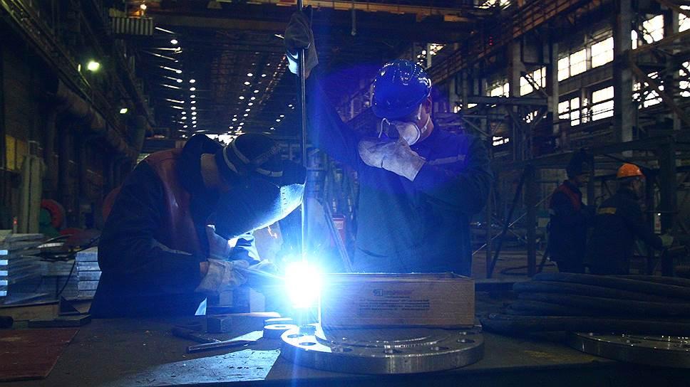 Растущими в промышленности остались три отрасли