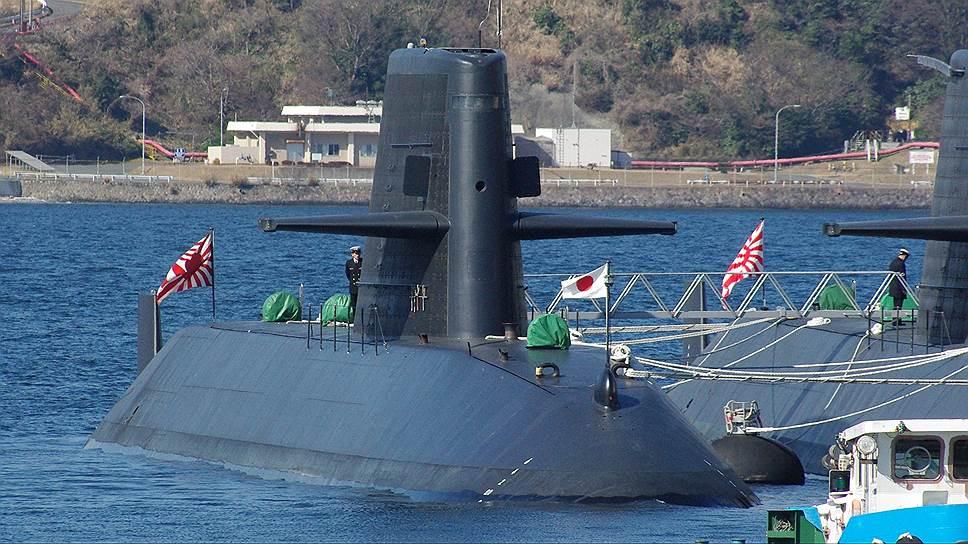 Японская подводная лодка класса Oyashio