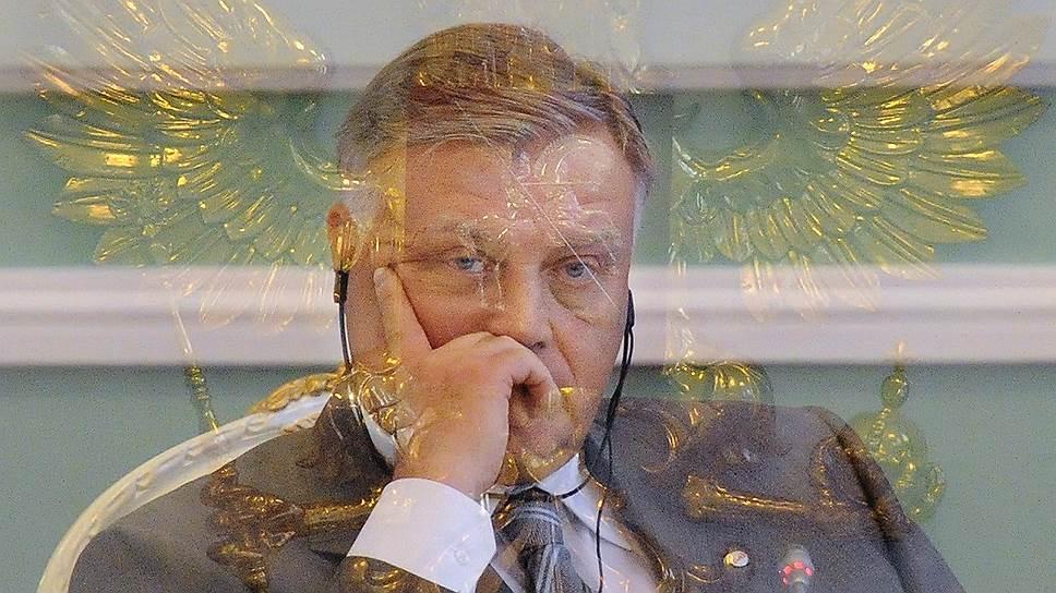 """Президент ОАО """"Российские железные дороги"""" (РЖД) Владимир Якунин"""