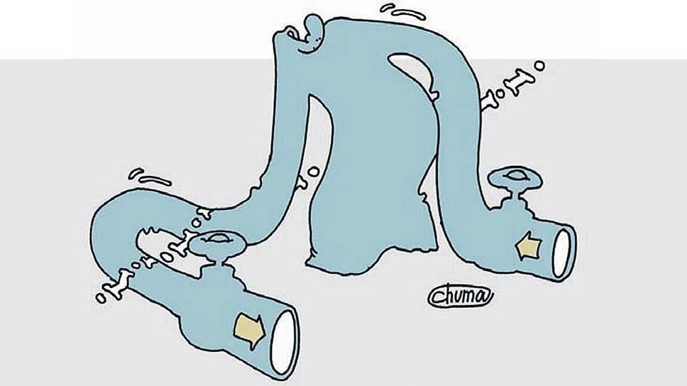 "Минэкономики сдувает выручку ""Газпрома"""