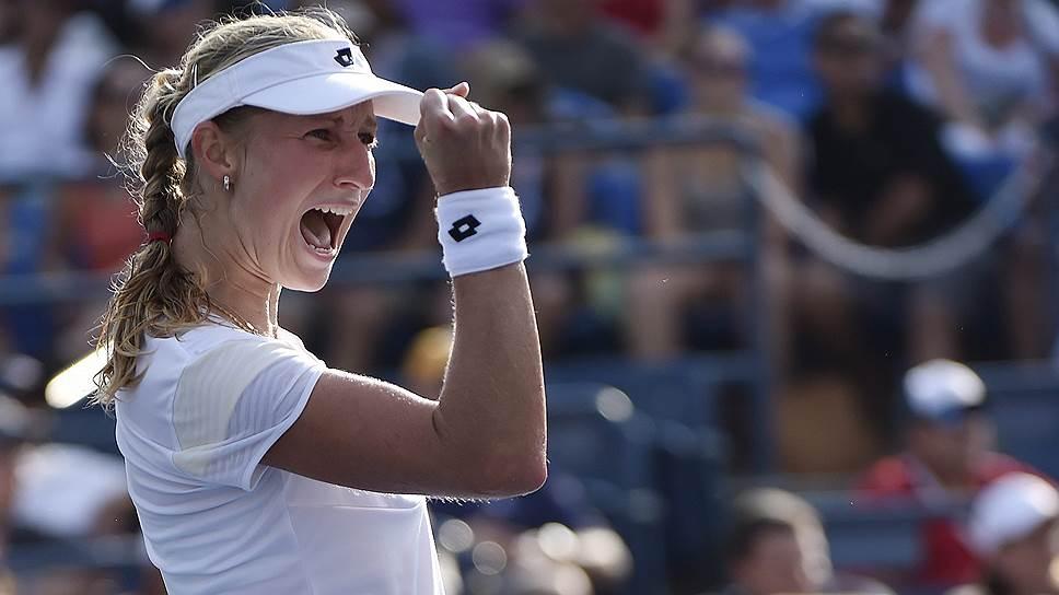 По дороге к четвертьфиналу US Open Екатерина Макарова выбила одну из фавориток турнира