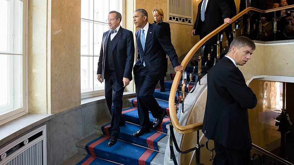 Как Барак Обама успокоил Прибалтику