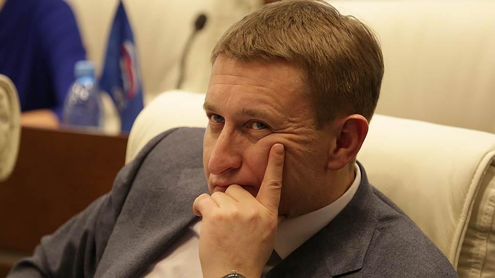Депутат Законодательного собрания Пермского края Дмитрий Скриванов