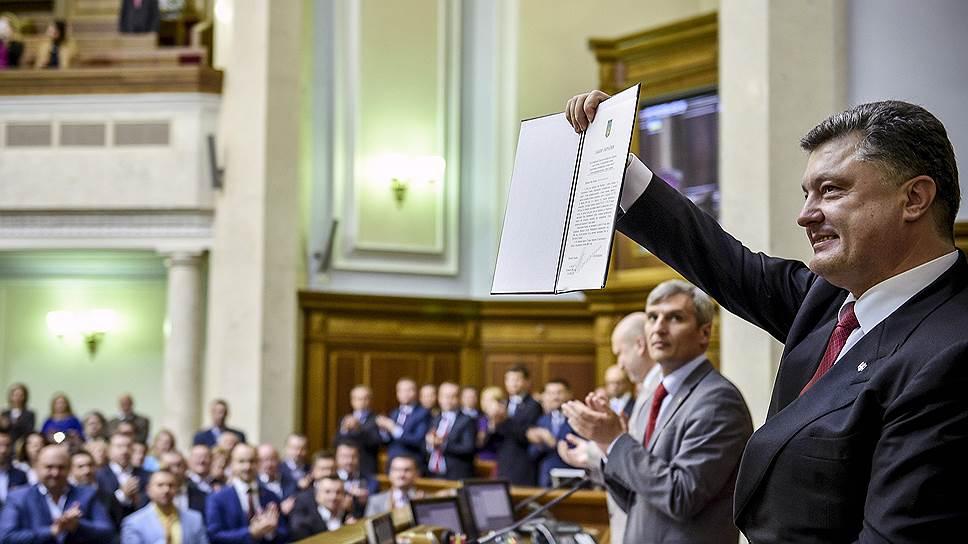 Украину ассоциировали с отсрочкой