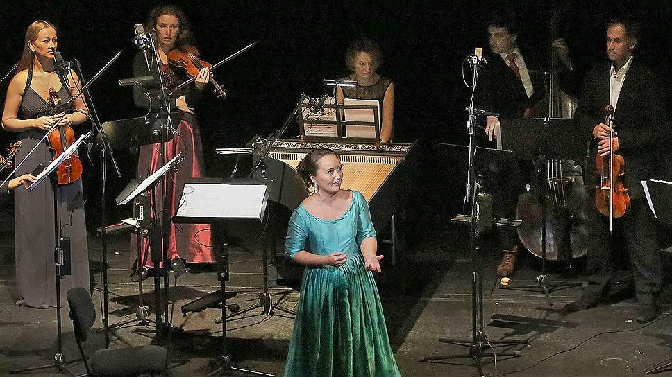 Первой на фестивале Большого «Барокко. Путешествие» выступила звезда бельканто Юлия Лежнева