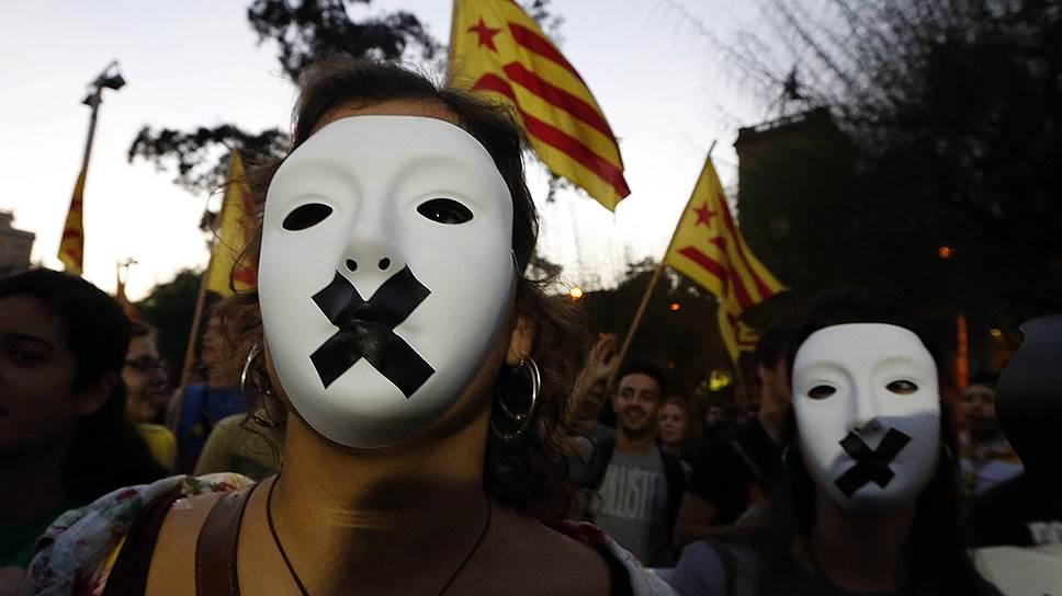 Мадрид не разрешил жителям Каталонии высказаться о независимости