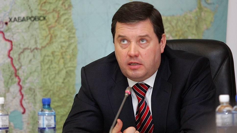 Руководитель Федерального агентства по обустройству государственных границ России Дмитрий Безделов