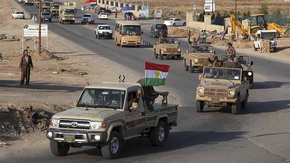 Иракские курды пришли на помощь сирийским