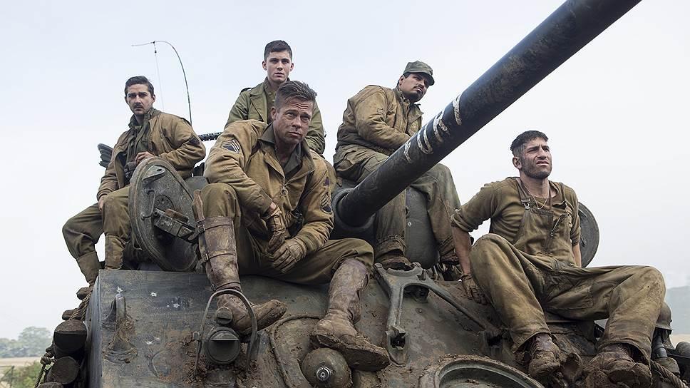 Как военная драма фильм «Ярость» представляет собой зрелище заурядное и типовое