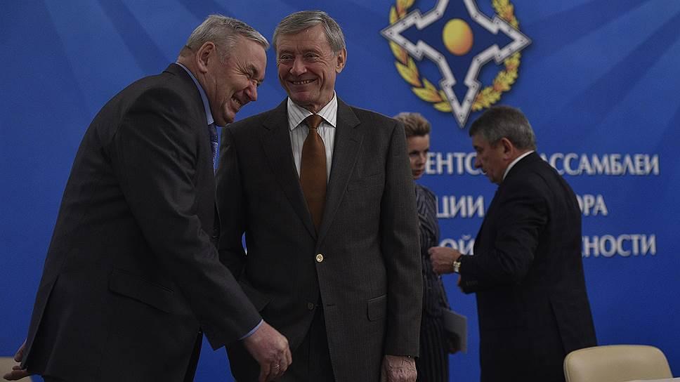 ОДКБ прервала одностороннюю связь с НАТО