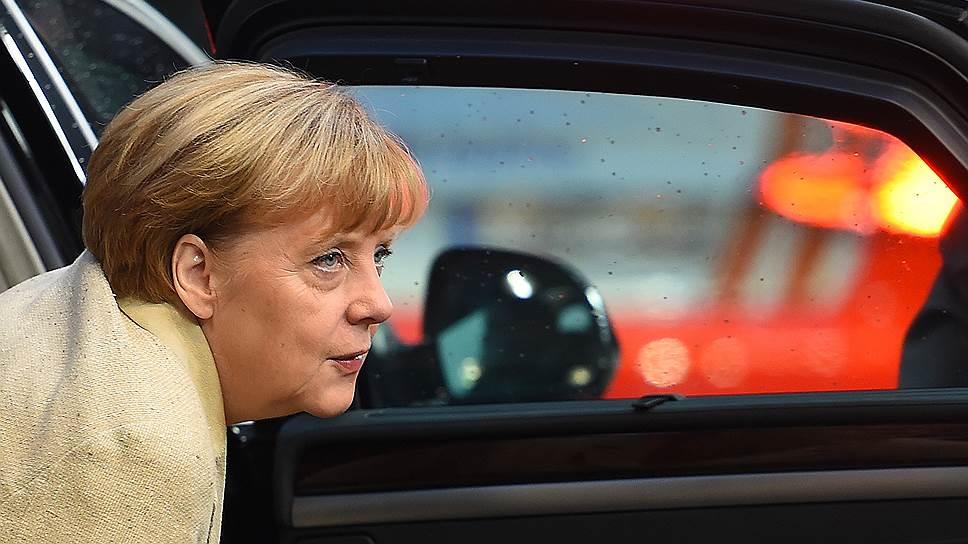Ангела Меркель не дала своей санкции на новые экономические меры против России