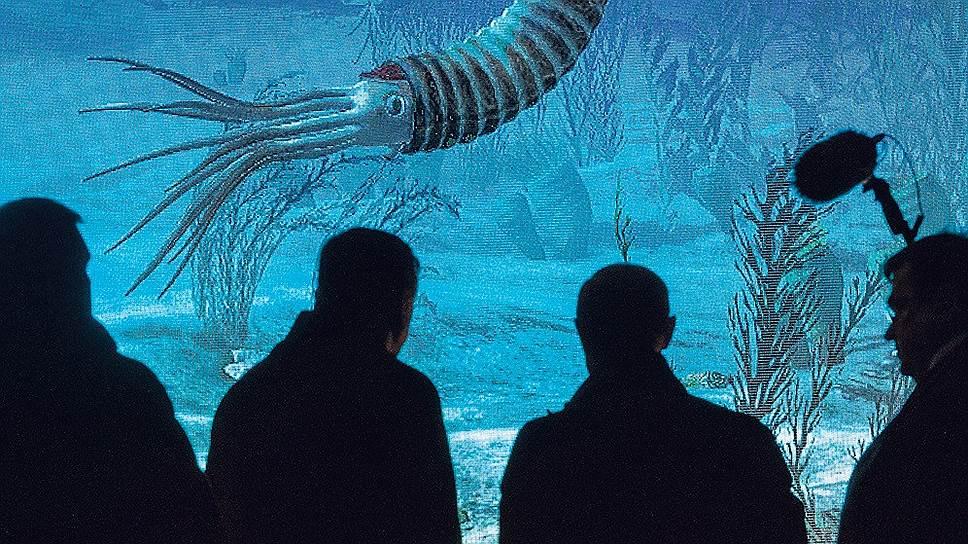 Видеоинсталляция удалась настолько, что в сравнении с ней живые рыбы могут и проиграть